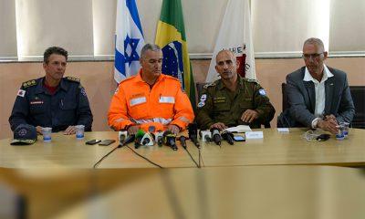 Corpo de Bombeiros Militar de Minas Gerais e exército de Israel ressaltam trabalho integrado em Brumadinho