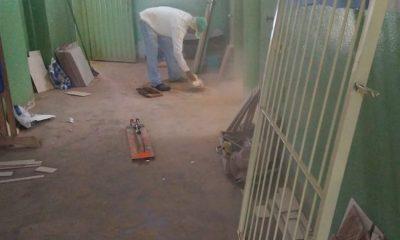 Prefeitura promove melhorias na Escola Rural de Itaipu