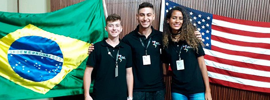 Jovens embaixadores mineiros foram para intercâmbio nos Estados Unidos