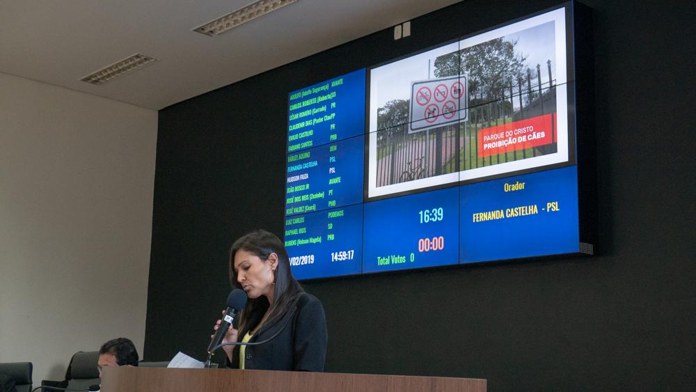 Fernanda Castelha cobra melhores salários para os técnicos de enfermagem de Araxá