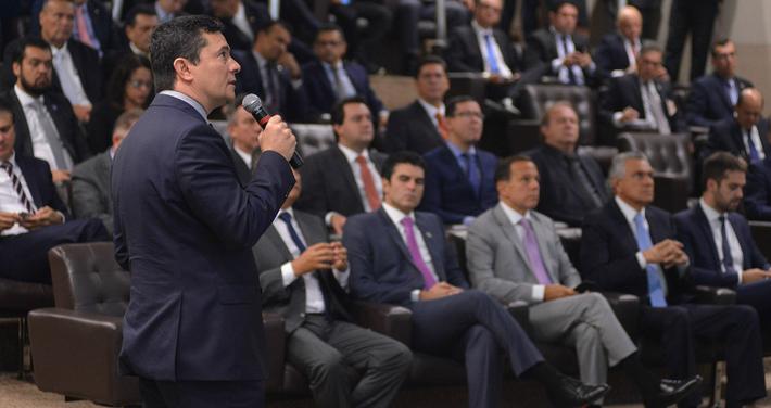 """Projeto de Lei Anticrime: """"É dever do governo federal liderar mudanças"""", afirma Moro"""