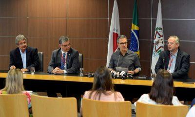 Governador Romeu Zema apresenta reforma administrativa e prevê economia de R$ 1 bilhão durante mandato