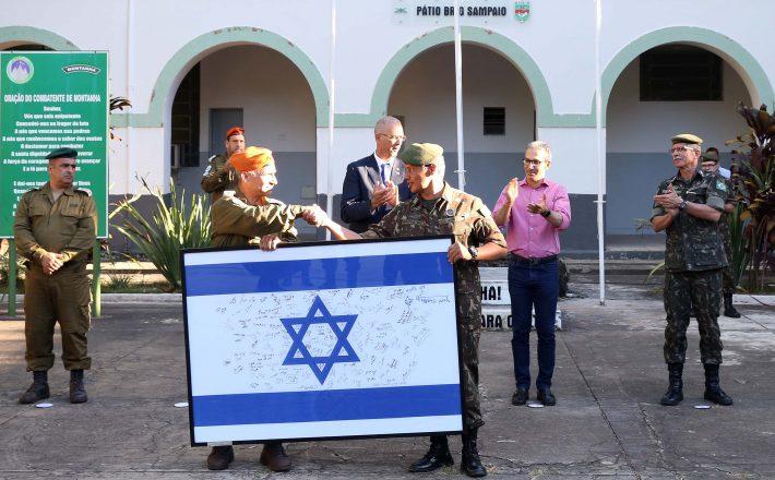 Governador Romeu Zema homenageia tropa de Israel pela atuação na busca por vítimas em Brumadinho