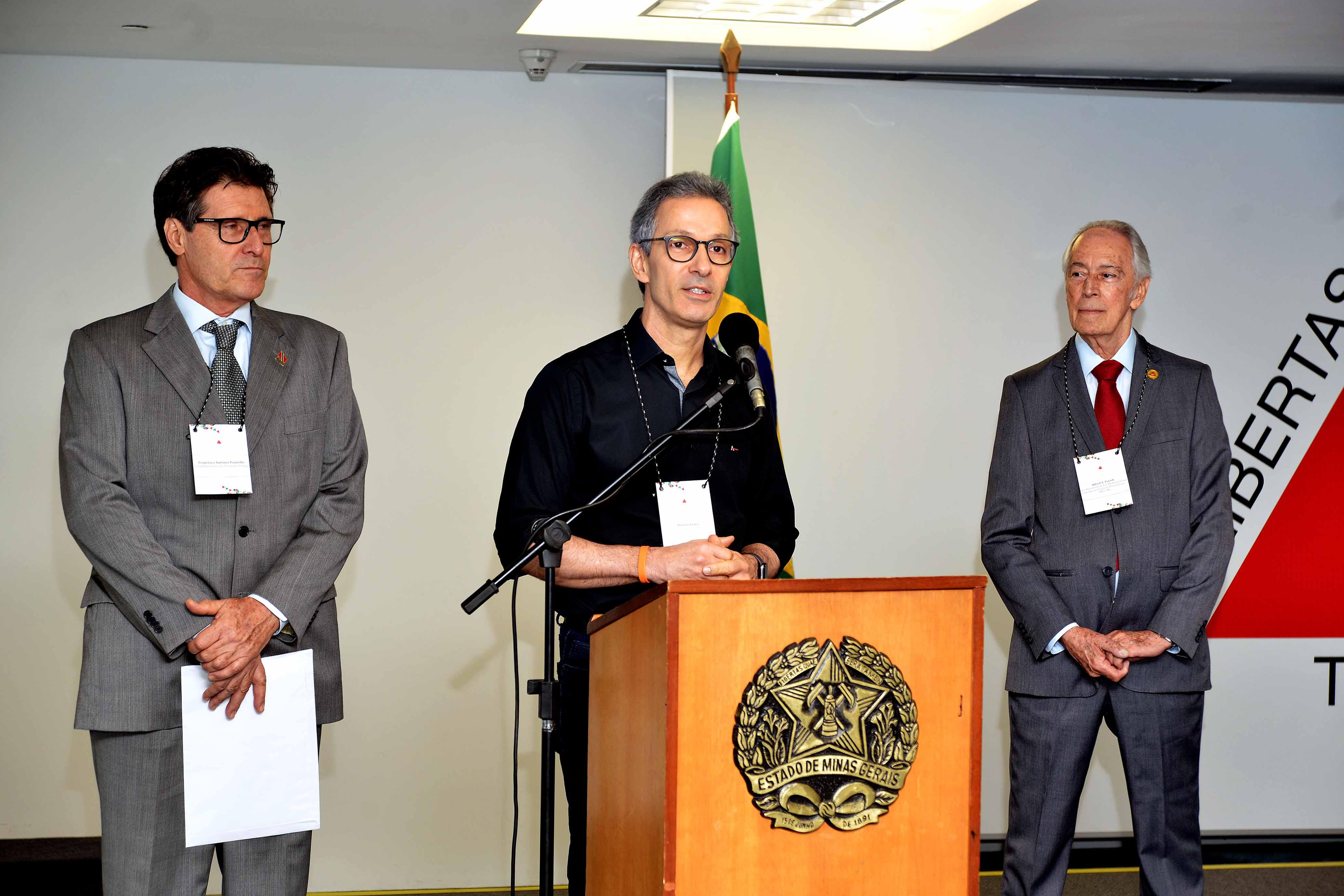Romeu Zema se reúne com cônsules e abre Minas para novos investimentos
