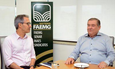 Governador participa de reunião na Faemg e destaca importância do agronegócio mineiro