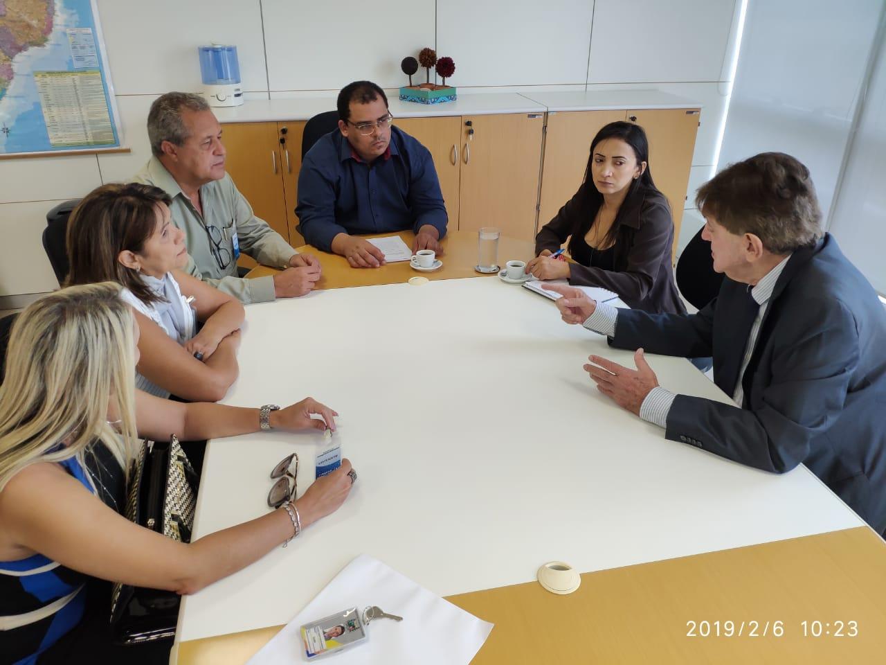 Prefeito participa de encontro no Ministério do Desenvolvimento Regional