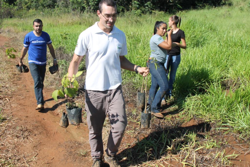 Prefeitura apoia projeto de recuperação das nascentes