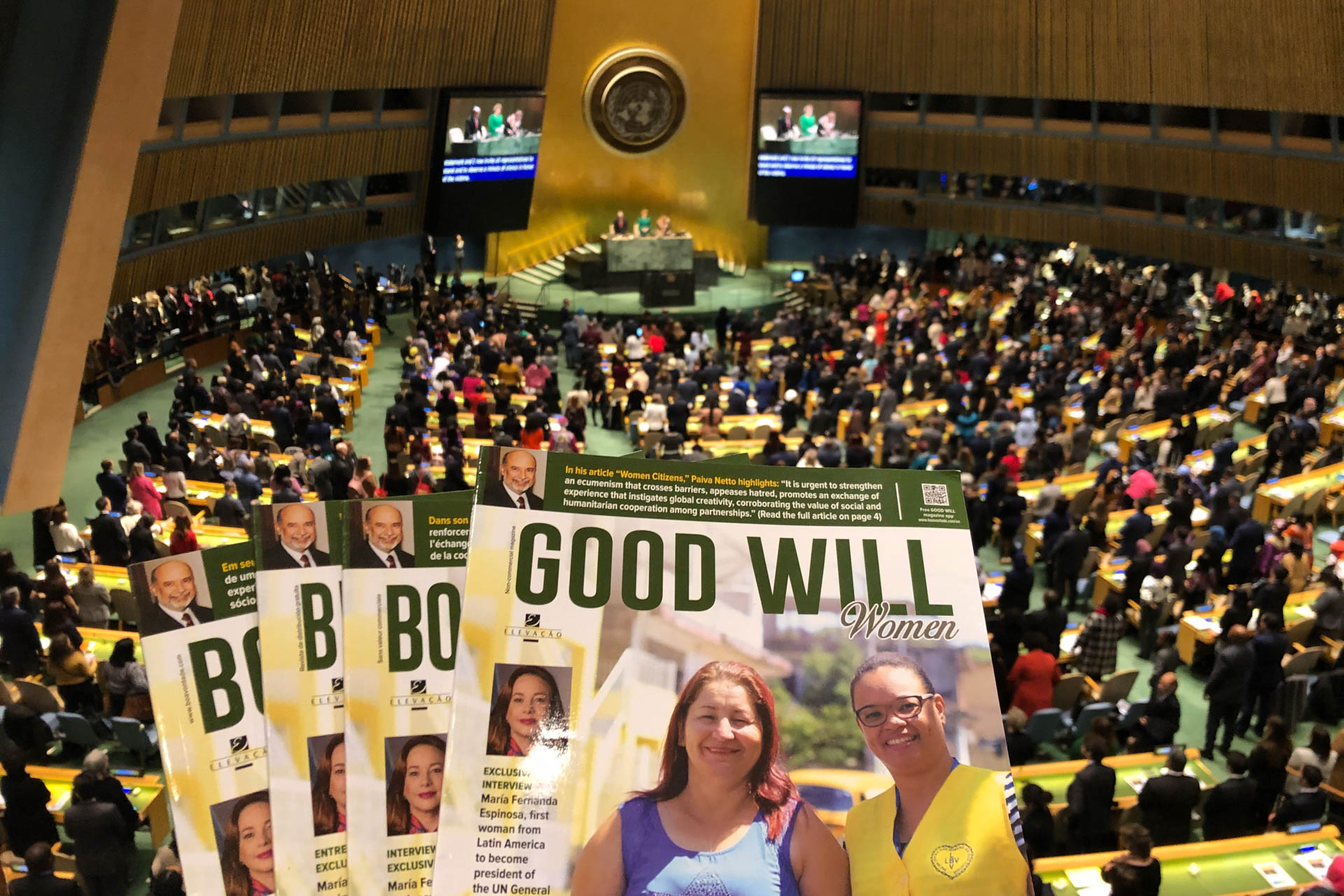 Evento da ONU discutiu desenvolvimento sustentável para o empoderamento da mulher
