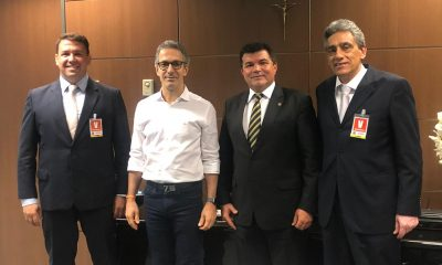 Bosco e Zema discutem situação de Araxá e Noroeste de Minas