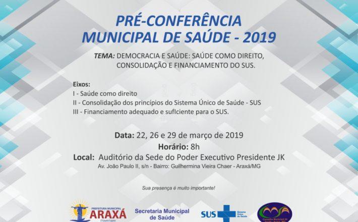 Prefeitura realizará Pré-Conferências e conclama participação da comunidade