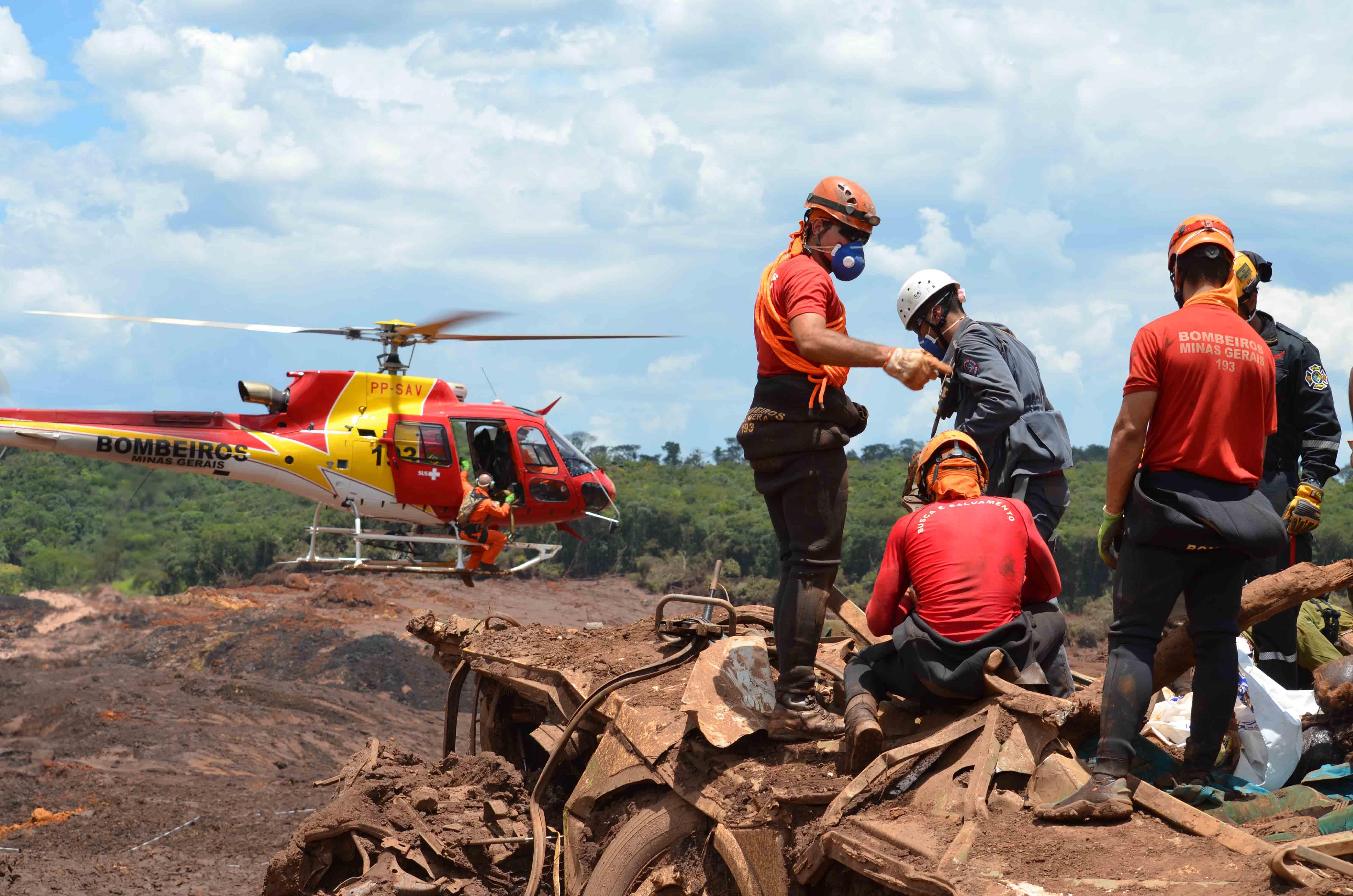 Brumadinho: a maior operação de busca e salvamento do Brasil