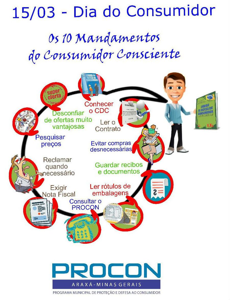 Campanha de conscientização marca Dia Internacional do Consumidor
