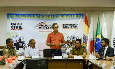 Romeu Zema destaca aumento da segurança e projetos de desenvolvimento do Norte de Minas
