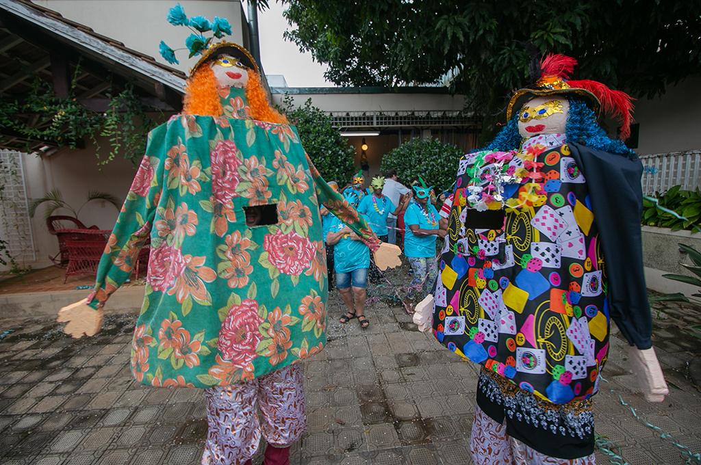 Prefeitura promoveu o Carnacultura e reuniu foliões no Memorial