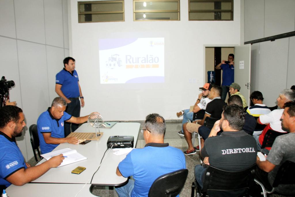 Prefeitura define participantes do Campeonato Ruralão