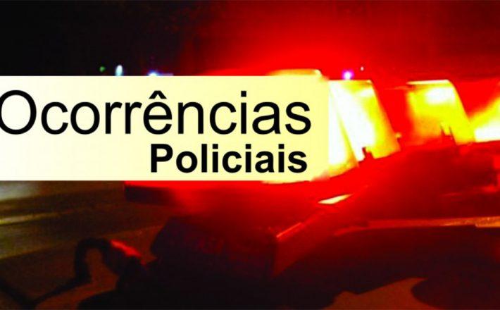 Ocorrências policiais de Araxá e região do final de semana(Semana Santa)