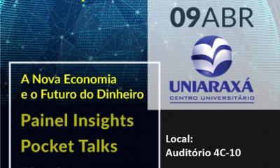 SEBRAE em parceria com a Empresa Júnior do UNIARAXÁ realizará um super evento denominado Crypto Talks