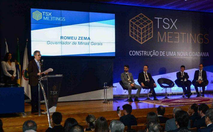 Romeu Zema defende conciliação de interesses dos setores público e privado durante encontro em Belo Horizonte