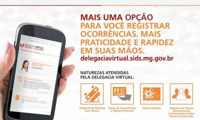 Delegacia Virtual do Estado de Minas Gerais