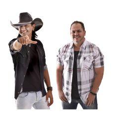 Emílio & Eduardo inauguram palco gigante do Araxá Rodeio Show nesta quarta (24)