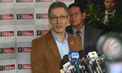 Romeu Zema e vice-presidente general Mourão se encontram com industriais mineiros
