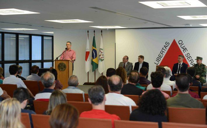 Romeu Zema lança sistema digital de fiscalização ambiental