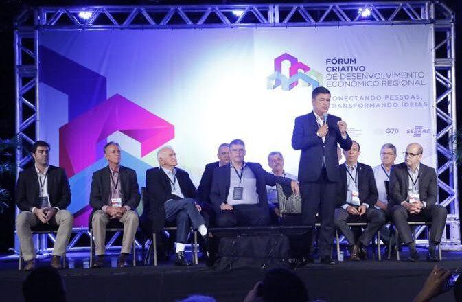 Prefeitura de Araxá participa de Fórum Criativo de Desenvolvimento Econômico Regional