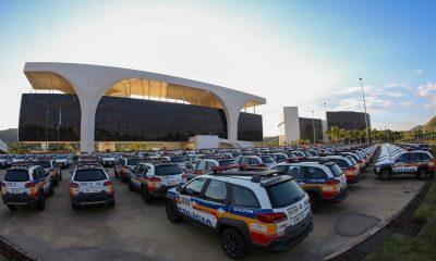 Governador entrega 625 novas viaturas para a Polícia Militar de 494 municípios de Minas Gerais