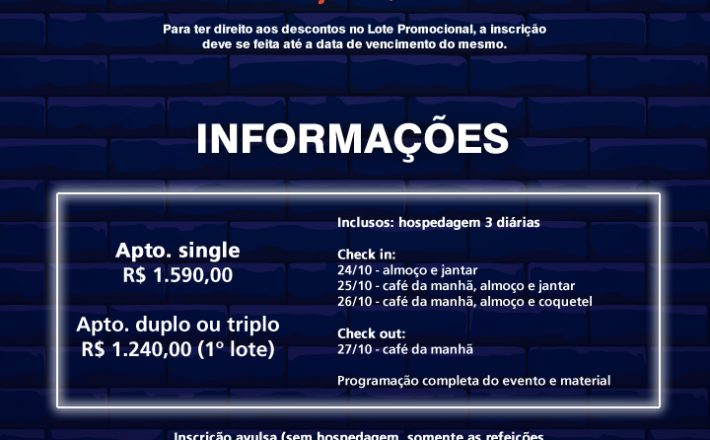 XXII Congresso das Associações Comerciais e Empresariais de Minas Gerais