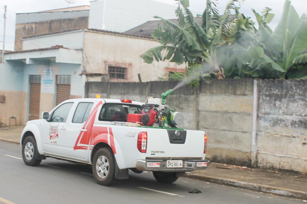 Itinerário do carro UBV pesado (Fumacê)