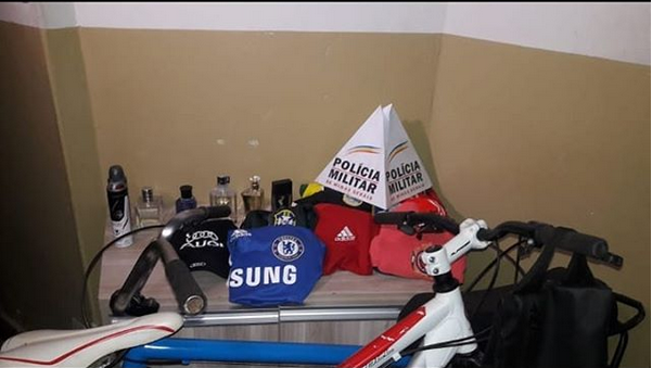 Polícia Militar apreende adolescentes e recupera materiais furtados em Araxá/MG