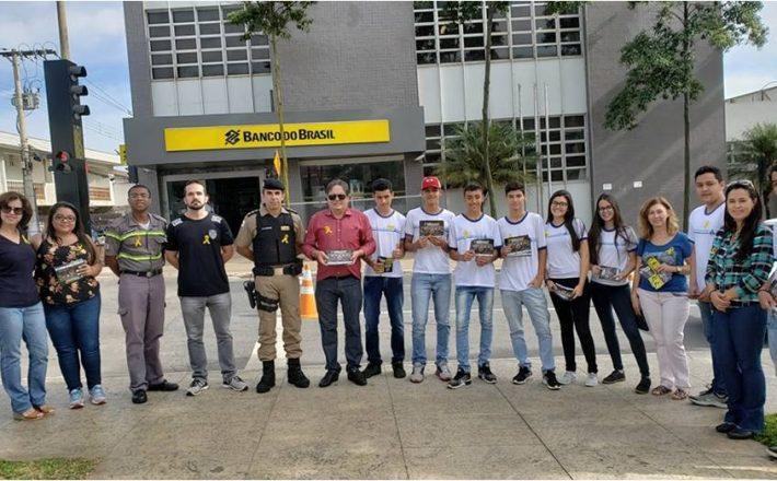 Polícia Militar participa da semana municipal de trânsito em Araxá