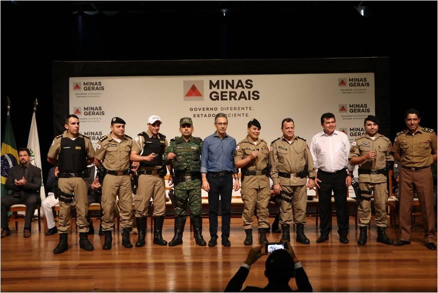 Polícia Militar recebe novas viaturas para reforço do policiamento em Araxá