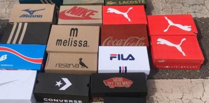 Receita Estadual intercepta carga de 6 mil pares de calçados falsificados