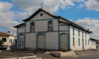 Bosco e secretário estadual de cultura visitam igreja São Sebastião em Araxá