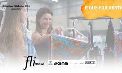 Feira de economia criativa é destaque no Fliaraxá