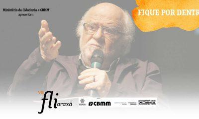 Fliaraxá vai começar em grande estilo com palestra de Danilo Miranda