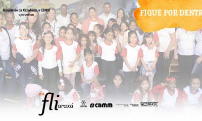 Estudantes curtem atrações do primeiro dia de Fliraxá