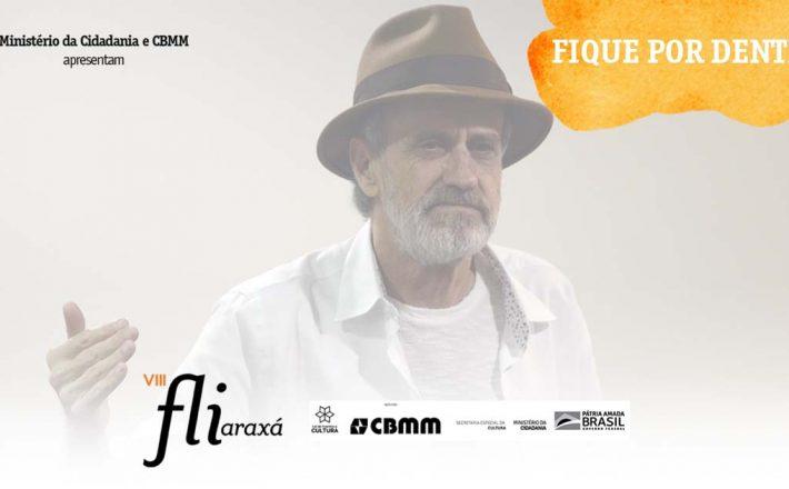 Com talk show, Evandro Affonso Ferreira conta histórias sobre grande nomes da literatura