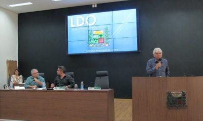Audiência Pública debate Lei de Diretrizes Orçamentárias