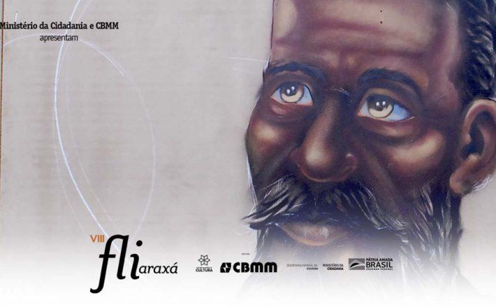 Machado de Assis é homenageado em mural no Fliaraxá