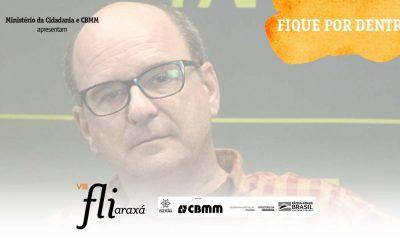 """A Literatura só é possível se existir antes a Leitura"", diz Luiz Ruffato"