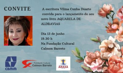 Prefeitura é parceira de lançamento de livro da escritora Vilma Cunha