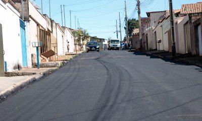Mais de 50% das ruas do bairro São Domingos já foram recapeadas pela Prefeitura