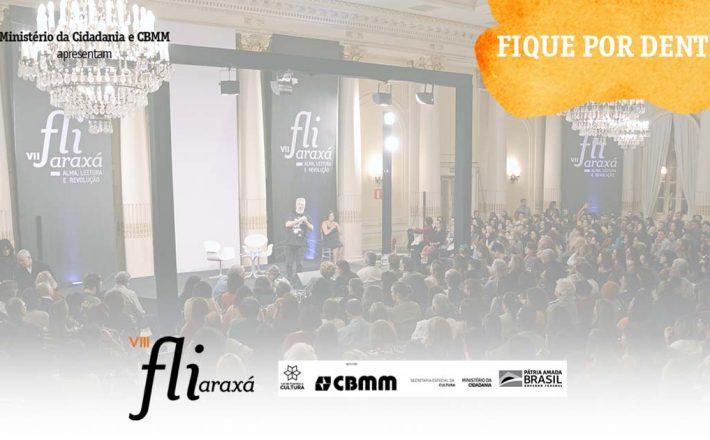 Festival Literário de Araxá começa nesta quarta