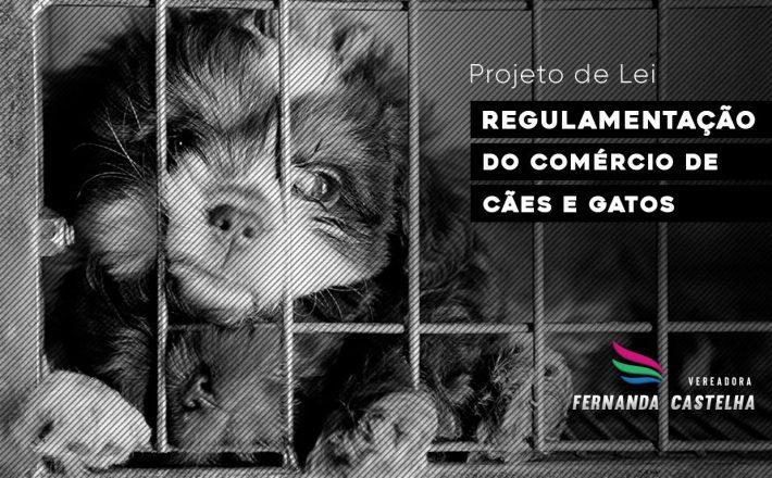 Regulamentação de venda de cães e gatos em Araxá