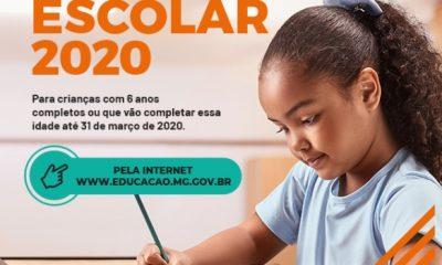 Prazo para Cadastro Escolar 2020 termina nesta semana