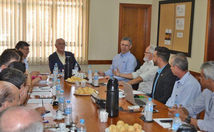 Presidente da CBMM visita a Associação Comercial de Araxá