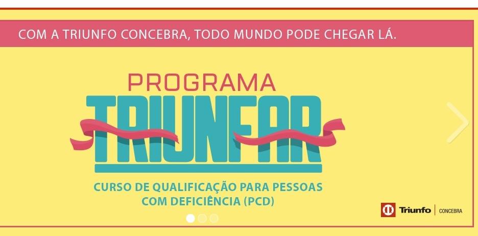 Triunfo Concebra abre inscrições para curso de qualificação para Pessoas com Deficiência, em Araxá