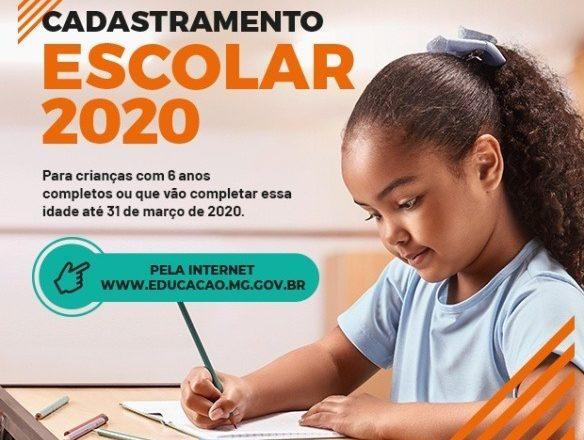 Pais já podem fazer o Cadastramento Escolar 2020